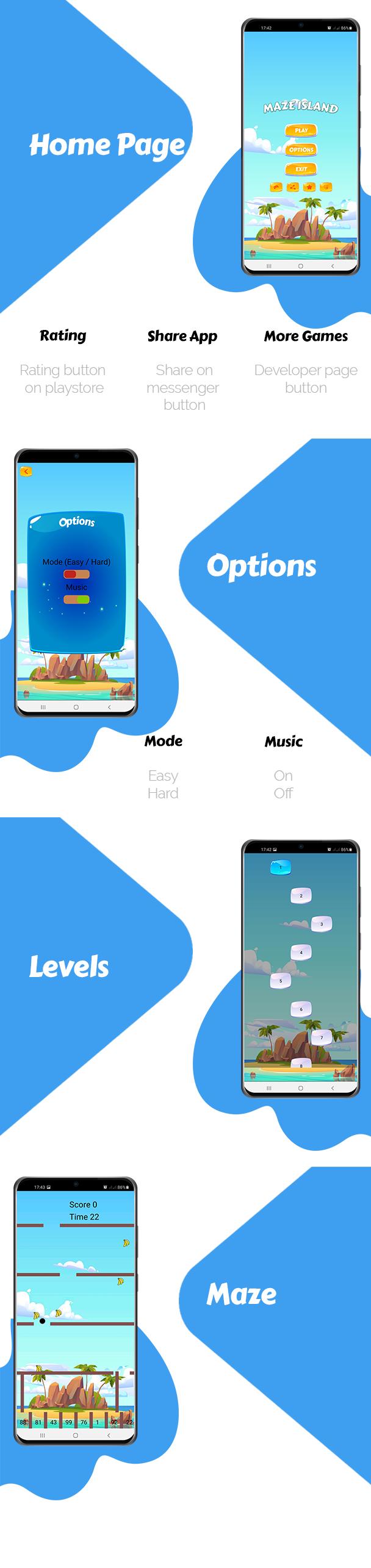Maze Island Game For Kids - 1